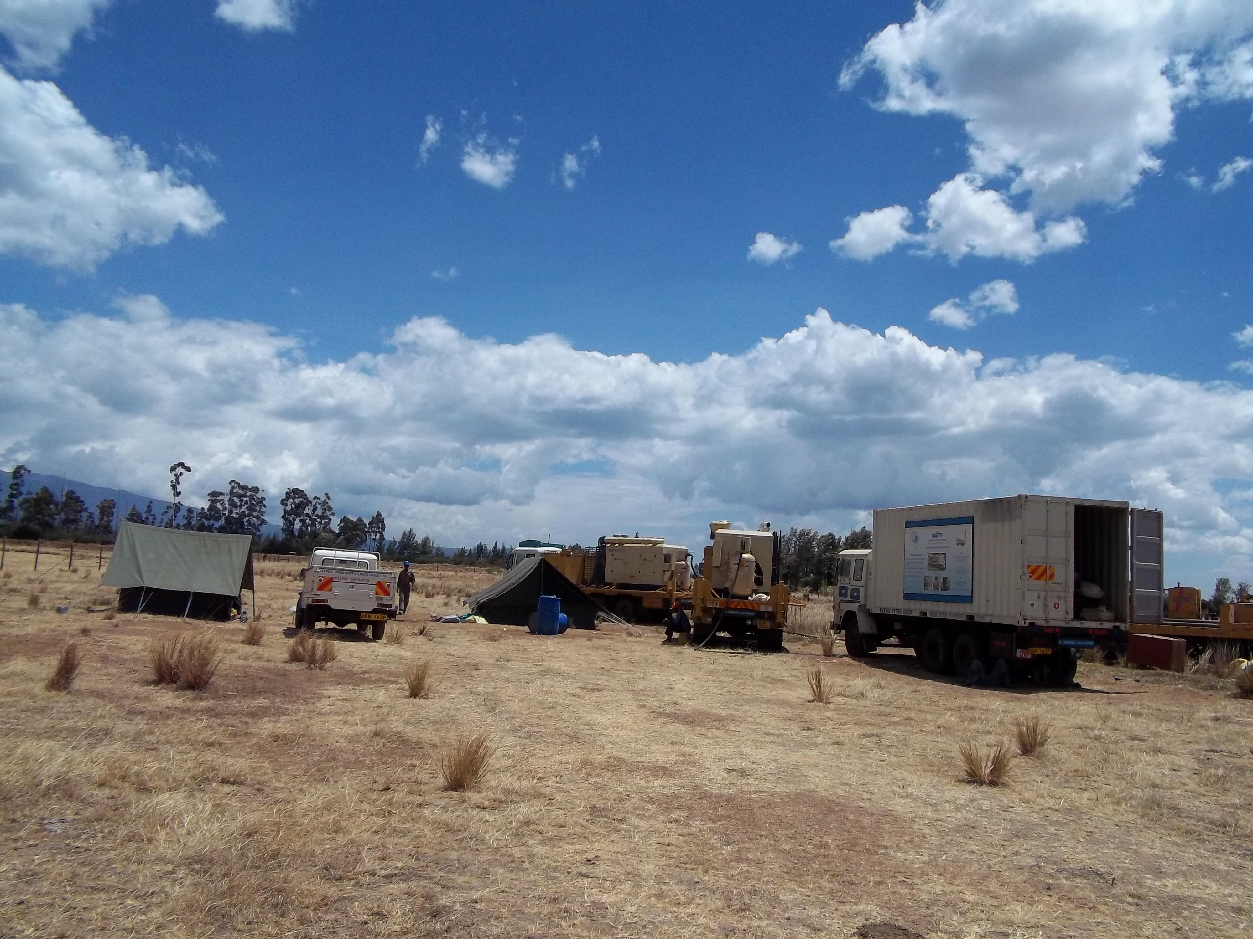 Site Mobilisation and Camp Set up