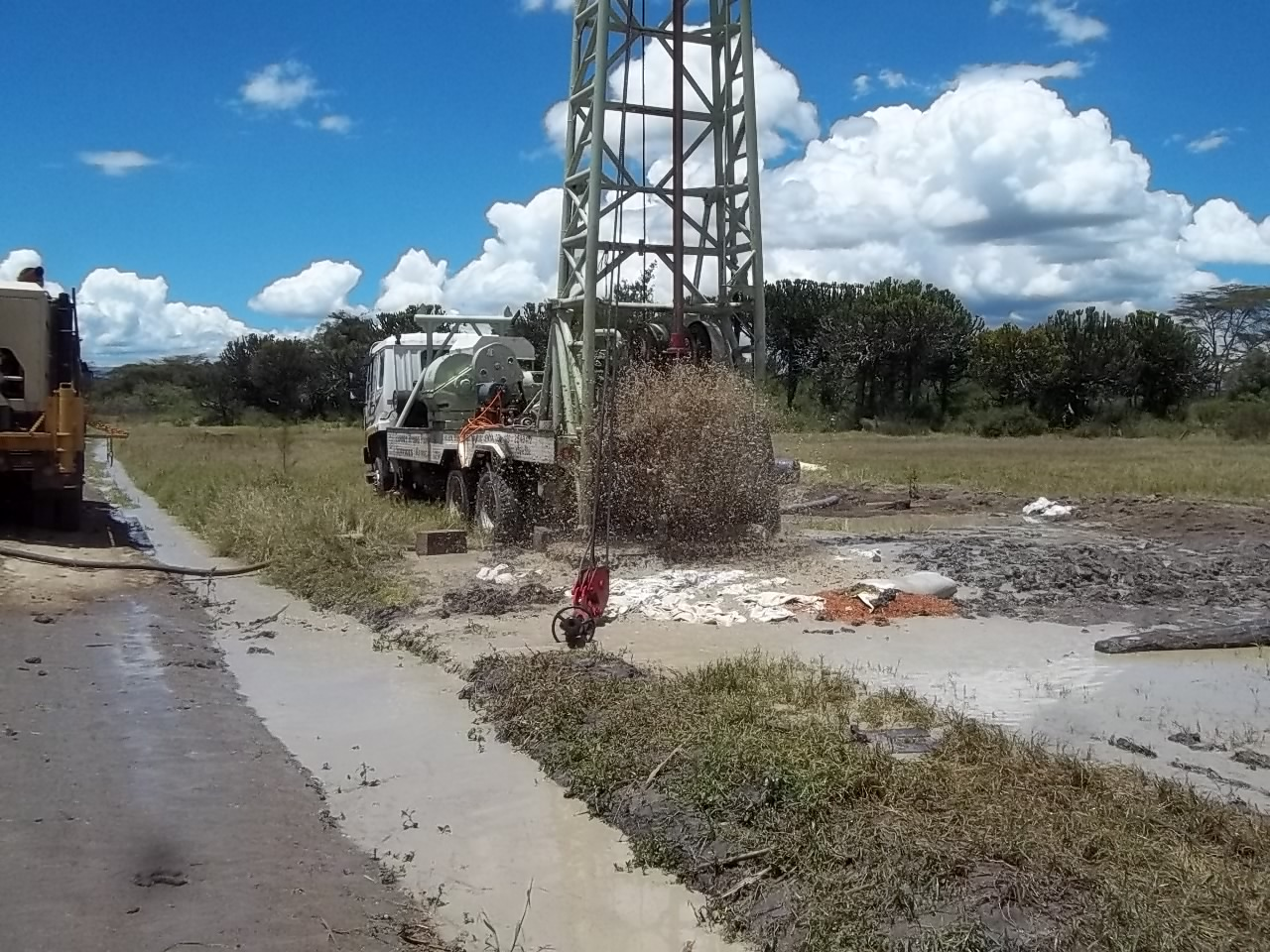 Mud drilling - Borehole Development